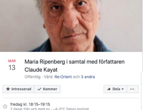 Samtal med författaren Claude Kayat
