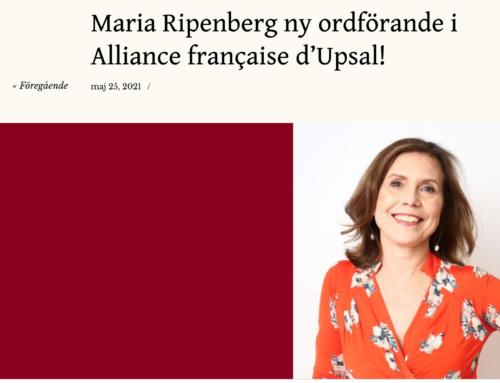 Présidente d'Alliance Française d'Upsal