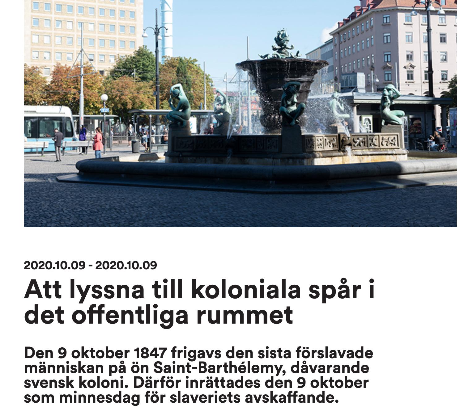 Föreläser på internationella konstbiennalen